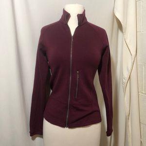Ibex women's zip up jacket